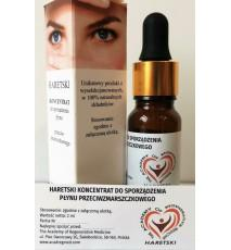 Concentrate for the preparation of anti-wrinkle fluid
