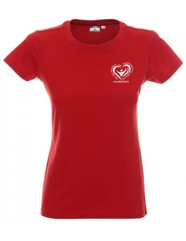Koszulka czerwona Haretski