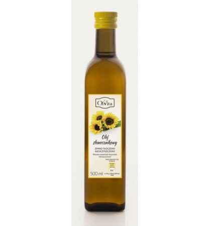 Sunflower oil 500 ml