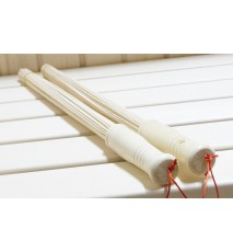 Bamboo whisk 2 pcs for massages in the suana