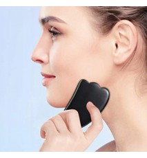 Face massager with GUA SHA plate