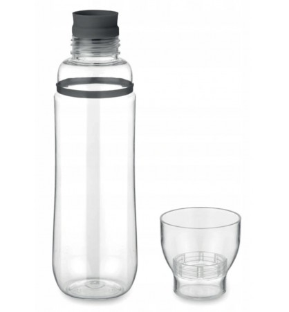 Bottle with a cup